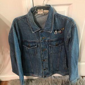 Vintage Mickey house denim jacket medium